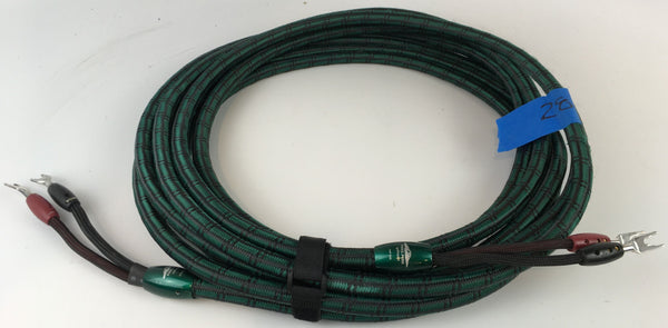 AudioQuest Pikes Peak Speaker Cables, 28'