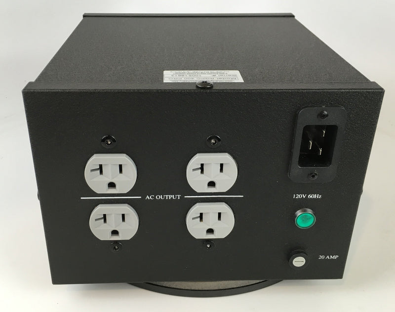 Richard Gray RGPC 400 PRO Power Conditioner, 20A, 4 Outlets