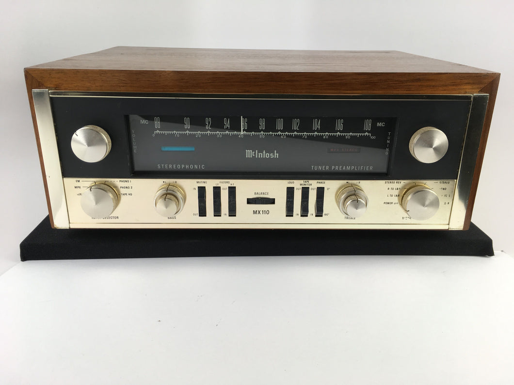 McIntosh MX-110 Tube Preamp Tuner