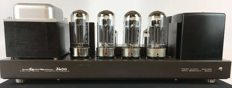 Luxman MQ-3600 Stereo Tube Amplifier with Original Luxman Tubes