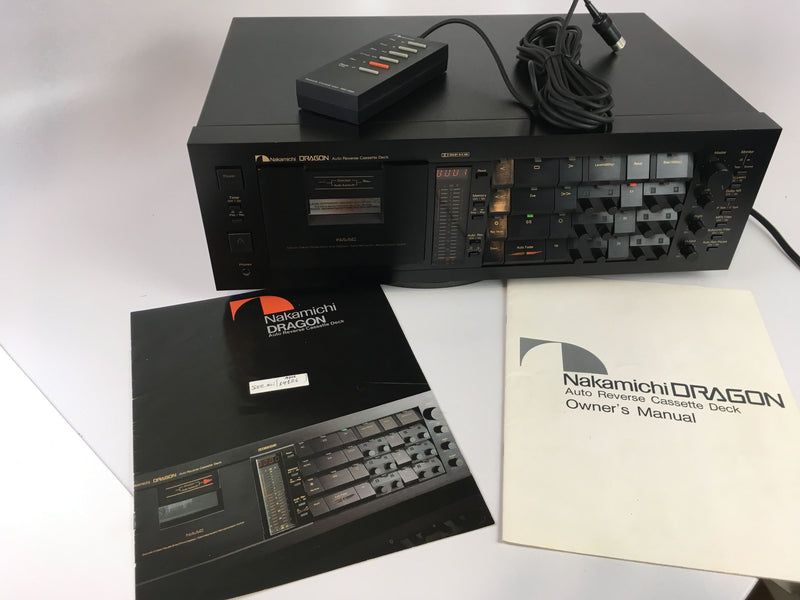Nakamichi DRAGON Tape Deck