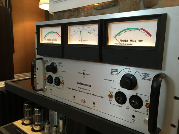 Audio Research D-79 Tube Amplifier