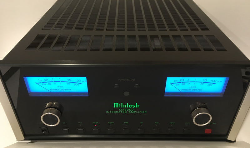 McIntosh MA6300 Integrated Amplifier - All Analog with Phono Input