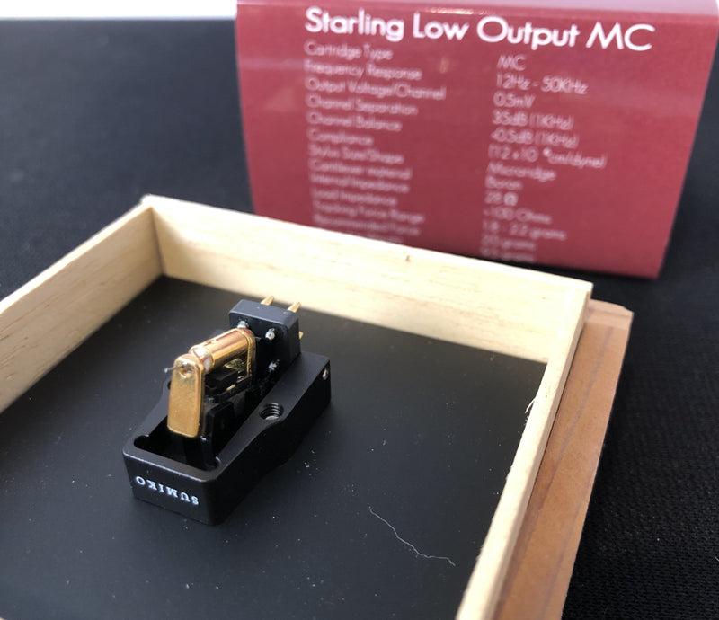 Sumiko Starling MC (Moving-Coil) Cartridge, Brand New