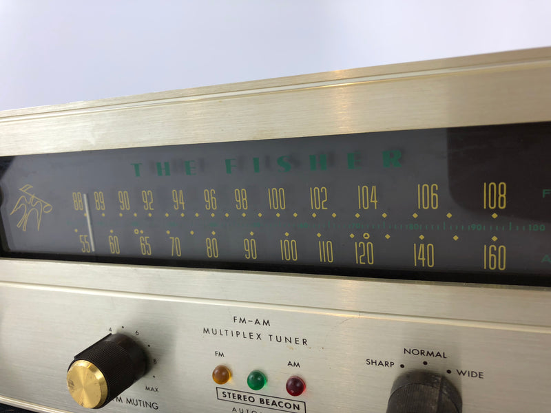 Fisher R-200 FM-AM Multiplex Stereo Tuner - All Tube Classic and Collectible