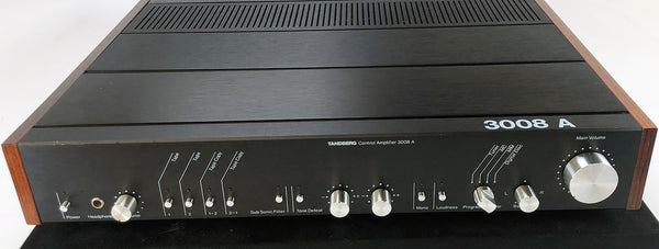 Tandberg 3008A Preamp with Phono Input - Zero Negative Feedback Design