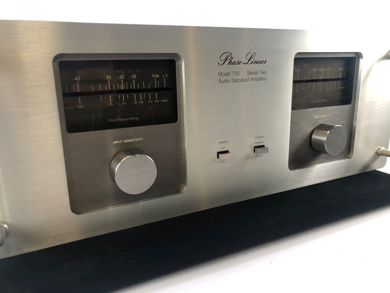 Phase Linear 700 Series II Amplifier - Incredibly Powerful