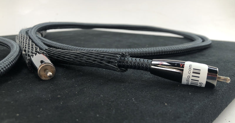 AudioQuest River Series - Yukon RCA Y-Splitter Cable - Custom Made By AudioQuest - 1M