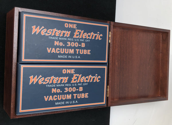 Western Electric No. 300-B Re-Issue NOS Tubes - NEW Matched Pair (Set 2 of 3)