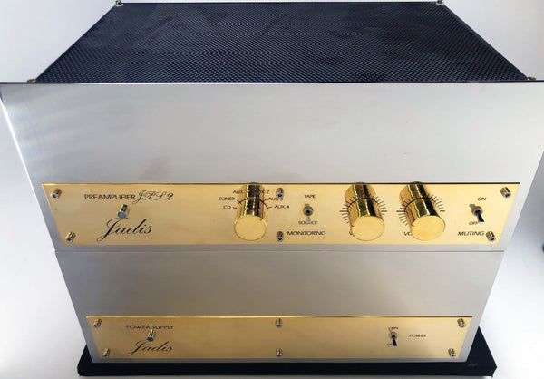 Jadis JPS2 Dual Chassis Line Stage Preamp - NOS (New Old Stock)
