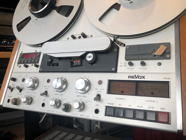ReVox PR99 MKII Reel to Reel - 2 Track - Collector's Favorite