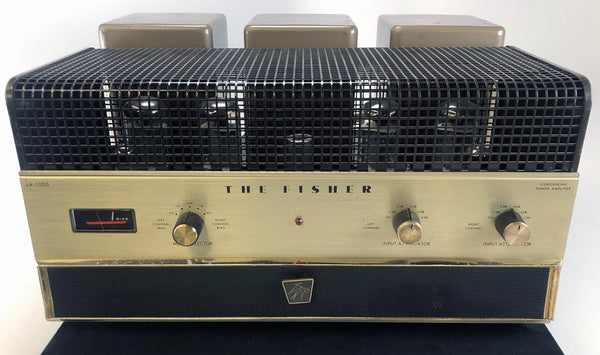 Fisher SA-1000 Legendary Tube Amplifier - All Original
