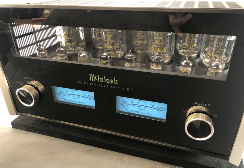 McIntosh MC2102 Tube Amplifier - Almost Vintage - Sidney A. Corderman McIntosh 50th Anniversary