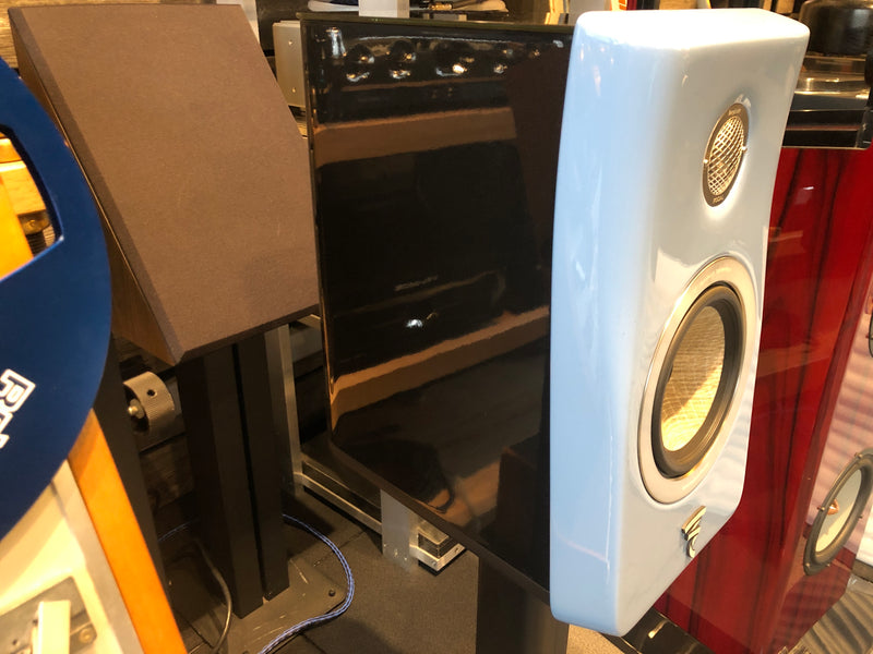 Focal Kanta N°1 High Gloss Speakers with Stands - Rare Gauloise Blue Finish