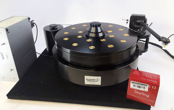 Acoustic Signature Mambo Turntable with Kuzma Tonearm and New Sumiko Cartridge