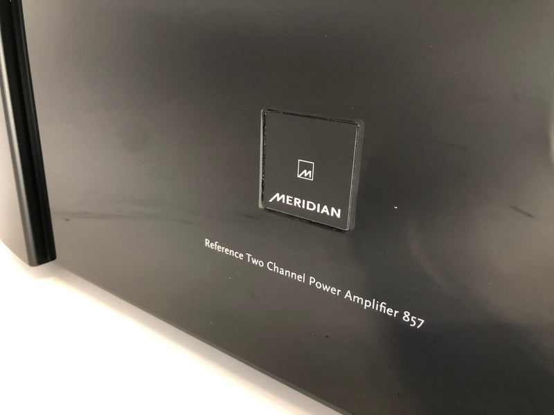 Meridian 857 Reference Two Channel Power Amplifier - Like New