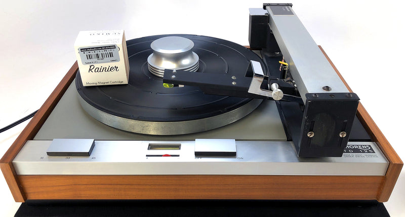 Thorens TD-125 Vintage Turntable with Rabco Tangential Tonearm and New Sumiko Cartridge