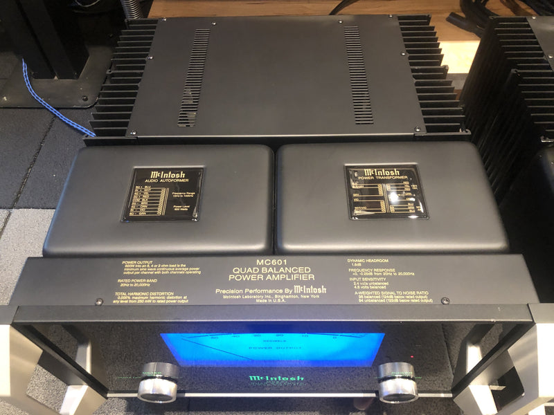 McIntosh MC601 Quad Balanced Monoblock Amplifiers - WOW!!
