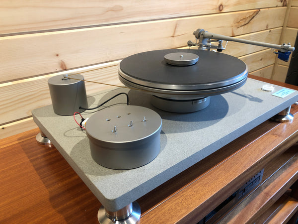 Simon Yorke Designs Model 10 Turntable with Two Tonearms + Wands + Upgrades