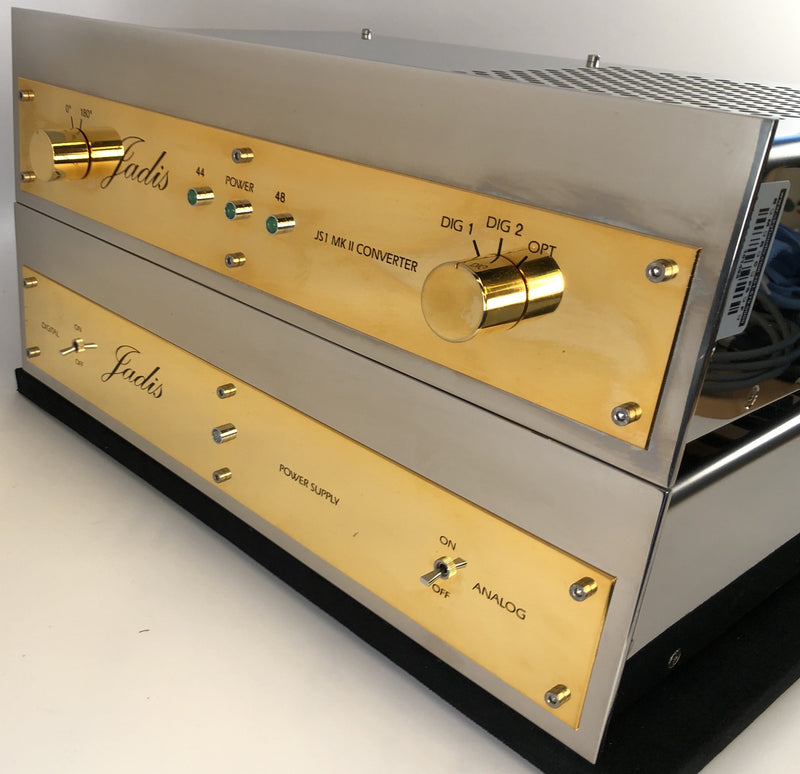 Jadis JS1 MKII Dual Chassis DAC - Demo Unit and Like New