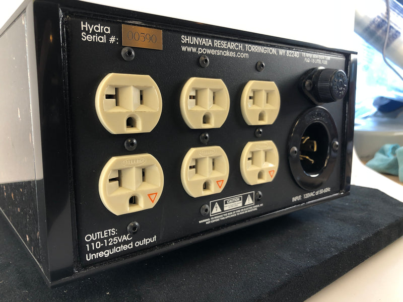 Shunyata Hydra Power Conditioner - The Original Solid Wood and MARBLE Version!