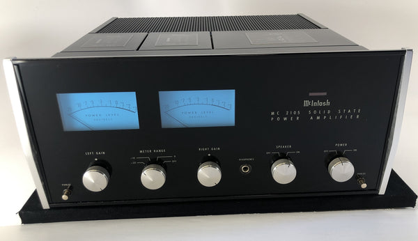 McIntosh MC2105 Solid State Vintage Amplifier - UPGRADED, RESTORED, and PERFECT