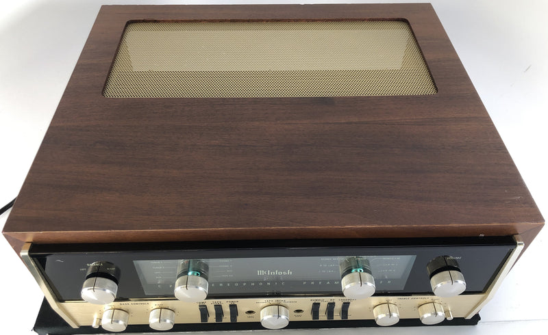 McIntosh C22 Vintage All-Tube Preamp - Collectors Edition - SkyFi Restored