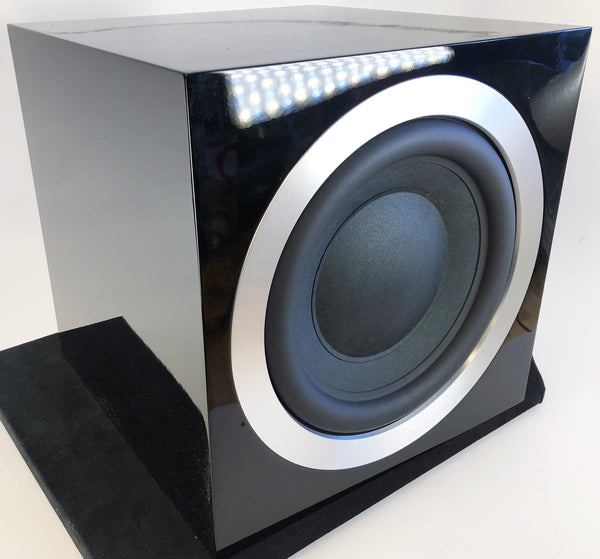 B&W (Bowers & Wilkins) ASW10 CM S2 Subwoofer (S2 is the later version) - in Gloss Black