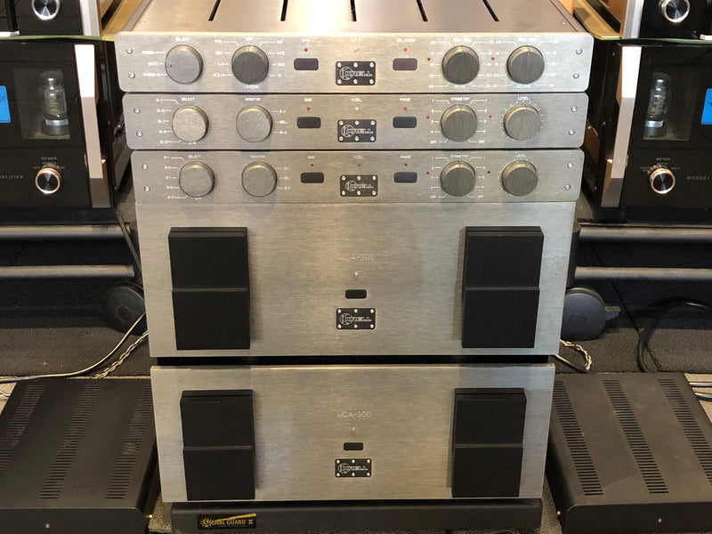Krell KBL DUAL MONO Preamp Stack with KPA Phono Section - WOW!