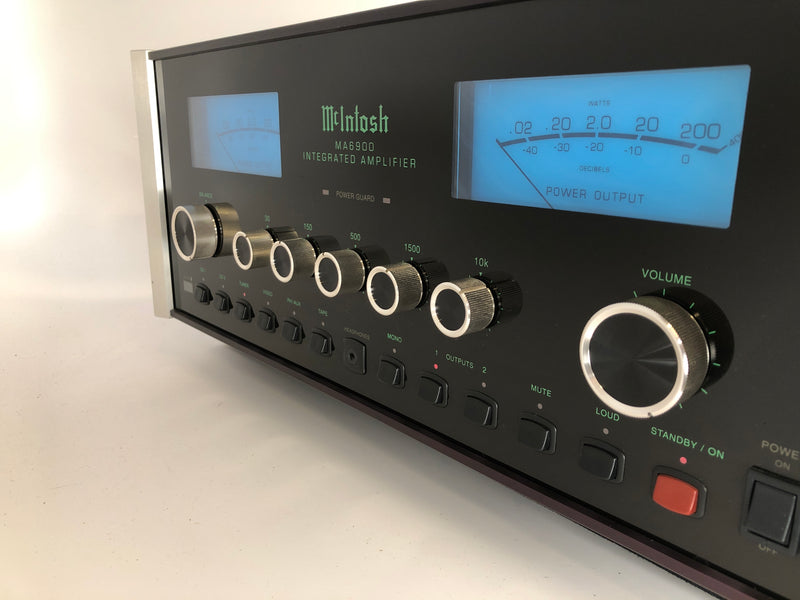 McIntosh MA6900 Integrated Amplifier - All Analog! Built In Phono