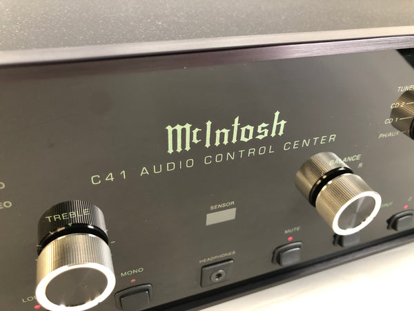 McIntosh C41 Analog Preamp with Phono Input - Survivor Condition Complete Set