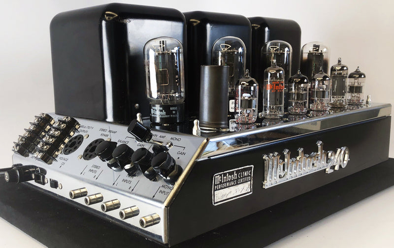 McIntosh MC240 Vintage Tube Amplifier - Restored and Sounding Amazing