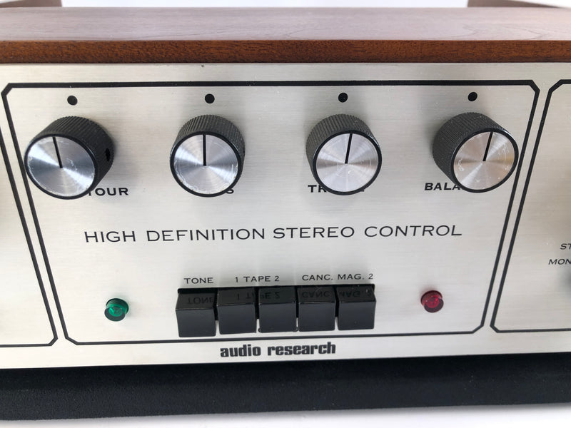 Audio Research SP-3A-1 Vintage Tube Preamplifier - Collector Grade Restoration - Reviewed By The Audiophiliac