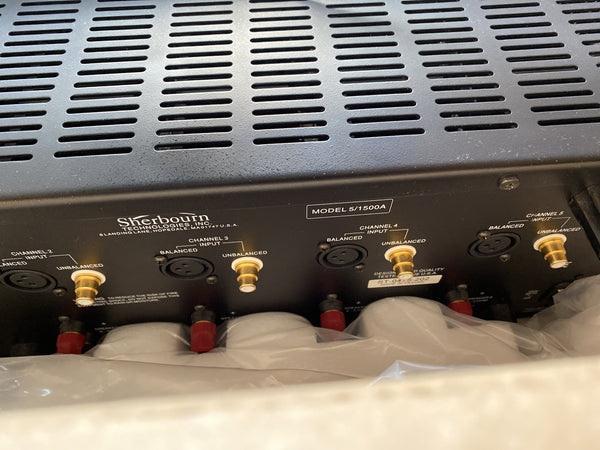 Sherbourn 5/1500A - Five-Channel Home Theater Amplifier - 200W!