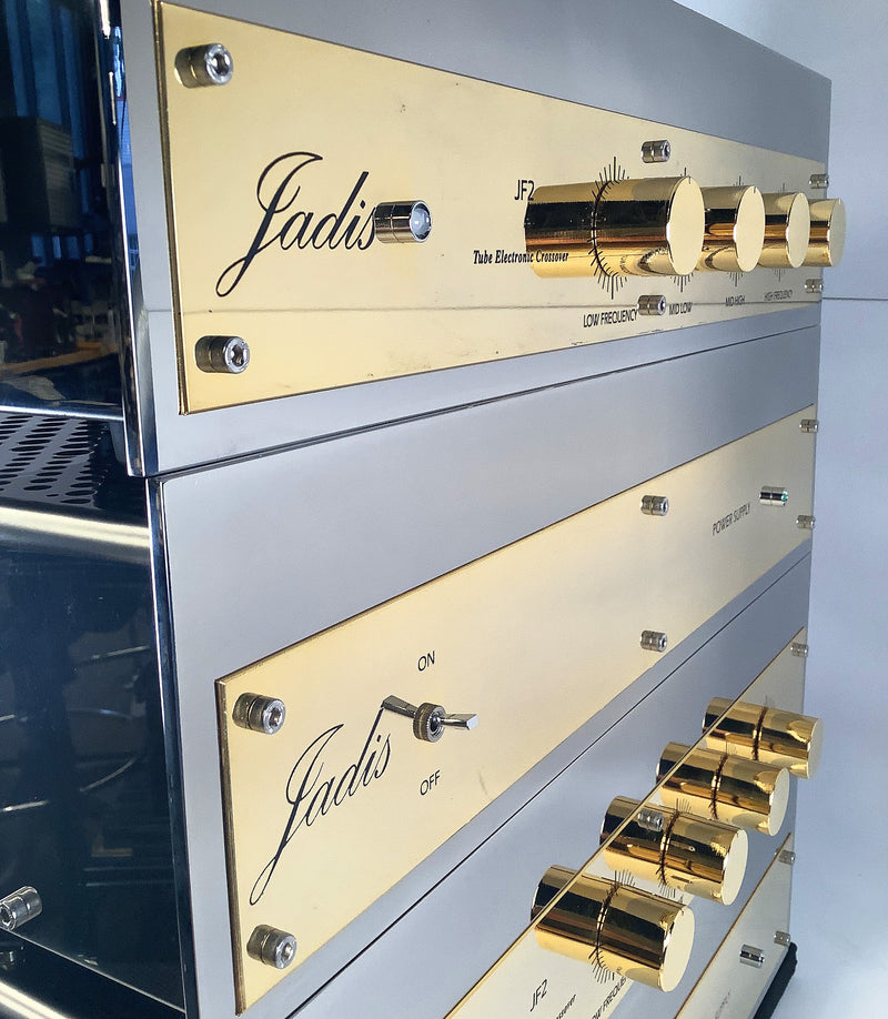 Jadis JF2 Tube Electronic 4-Way Crossover - 4 Chassis Dual Mono Setup Including Power Supplies