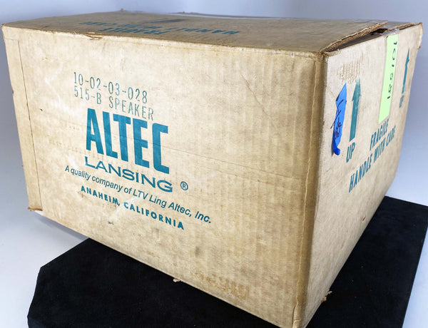 Altec Lansing 515-B Vintage Woofers - 16 ohms - Like New In Original Boxes!