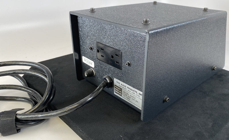 Tice Micro Block Power Conditioner - For Your Sources Or Preamps