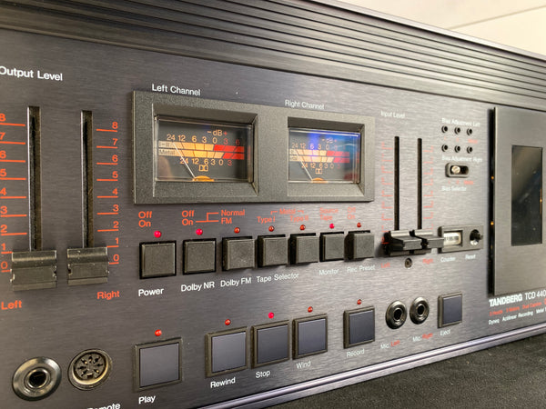 Tandberg TCD-440A Tape Deck - Serviced and Working Great