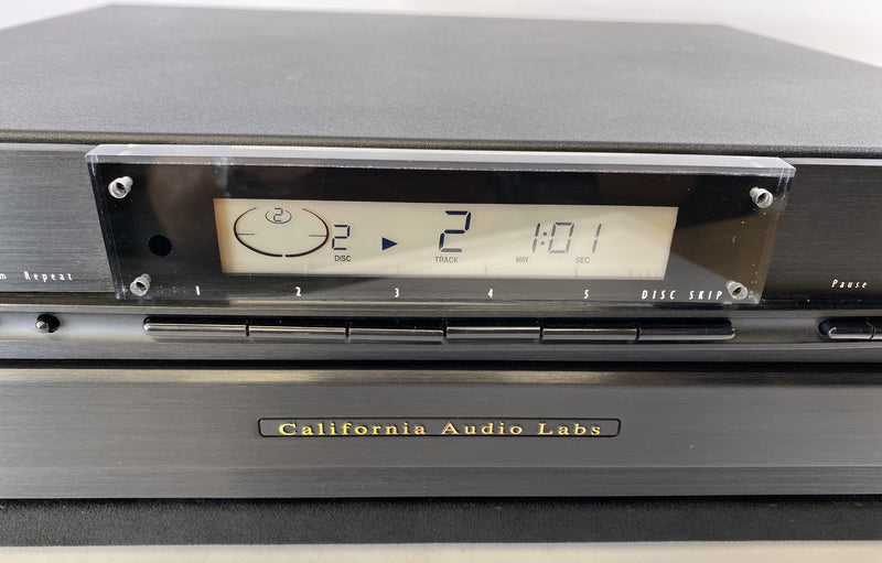 CAL (California Audio Labs) CL-10 CD Changer 20-Bit + HDCD Capable