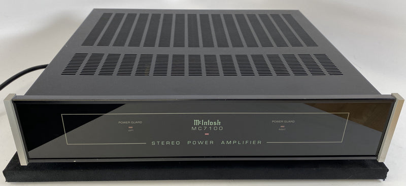 McIntosh MC7100 - Compact Yet Powerful Stereo Amplifier