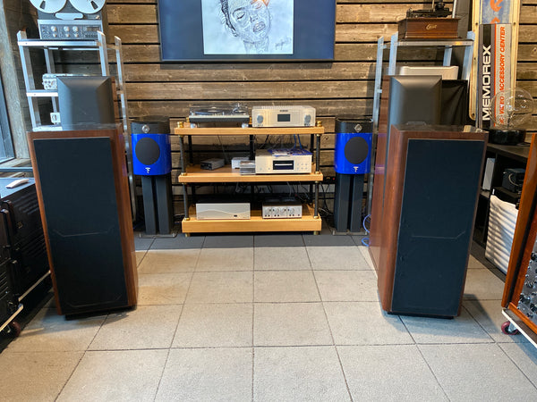 Fourier Model One Speakers - Rare!