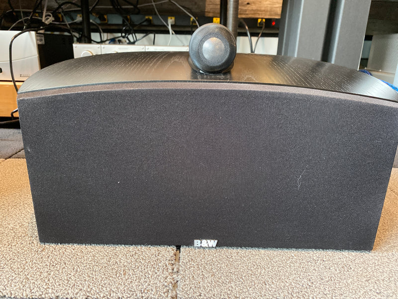 B&W (BOWERS & WILKINS) NAUTILUS CENTER CHANNEL HTM2 - HOME THEATER SPEAKER