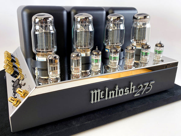 McIntosh MC-275 MK V Tube Amplifier with New Matched Tubes