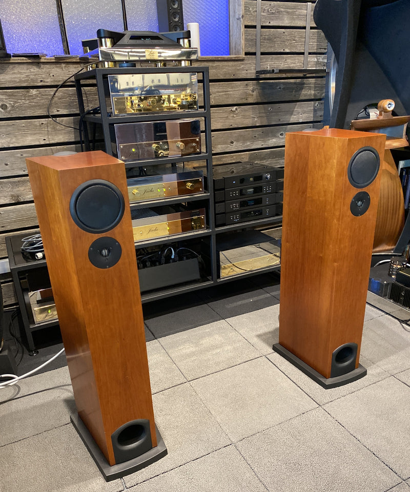 Linn AV 5140 Full-Range Floorstanding Speakers - Cherry Finish (1 of 2)