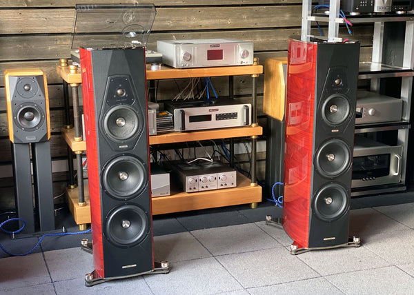 Sonus Faber Amati Futura Speakers - Italian Excellence