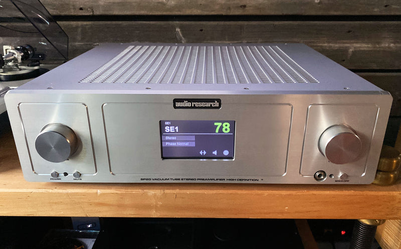Audio Research SP20 All Tube Preamp with Phono - Complete Package