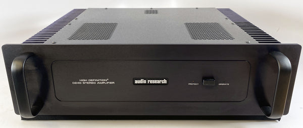 Audio Research D240 MKII Amplifier - Serviced and Powerful