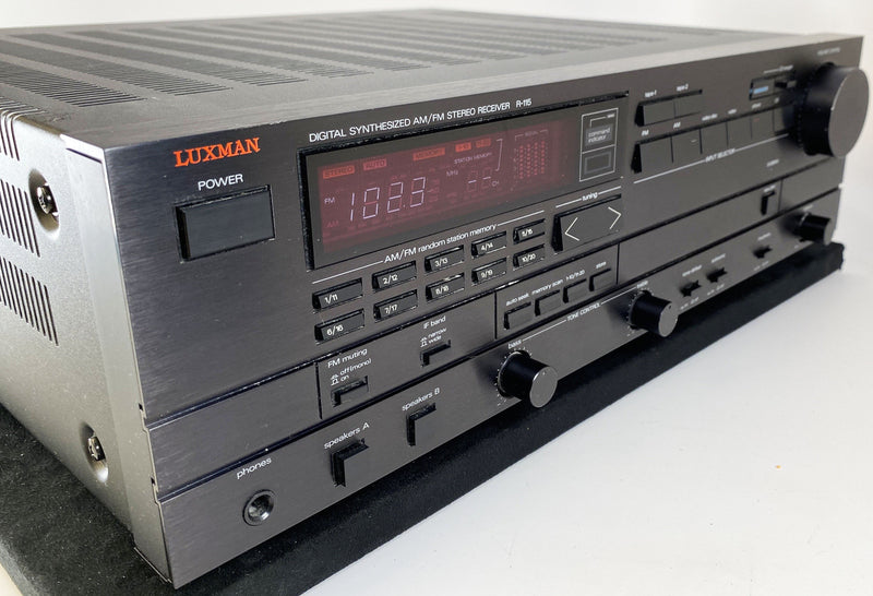 Luxman R-115 Vintage Digital Synthesized AM/FM Stereo Receiver