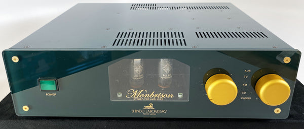 Shindo Laboratory Monbrison Tube Preamp with Phono - RARE