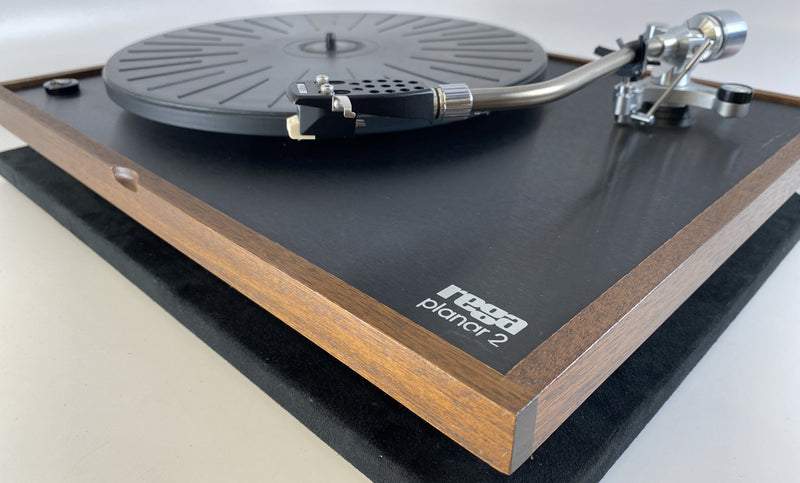 Original Rega Planar 2 Turntable with Wood Plinth and Original Tonearm